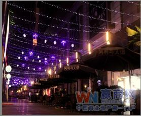 重庆上海城休闲美食街